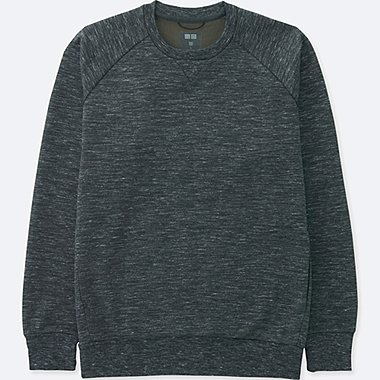 MEN DRY STRETCH SWEATSHIRT, DARK GRAY, medium