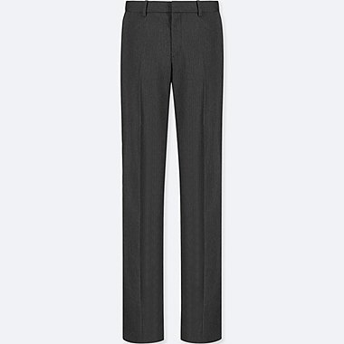 WOMEN STRETCH PANTS (ONLINE EXCLUSIVE), DARK GRAY, medium