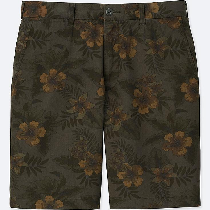 MEN CHINO SHORTS, DARK GRAY, large