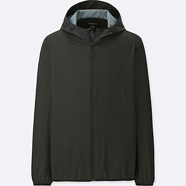 MEN SPRZ NY POCKETABLE PARKA (FRANCOIS MORELLET), DARK GRAY, medium