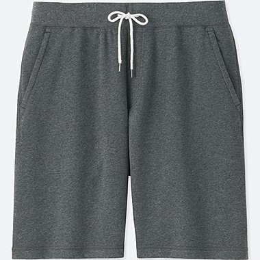 MEN JERSEY EASY SHORTS, DARK GRAY, medium