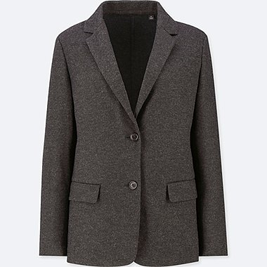 DAMEN BLAZER AUS WOLL-MIX