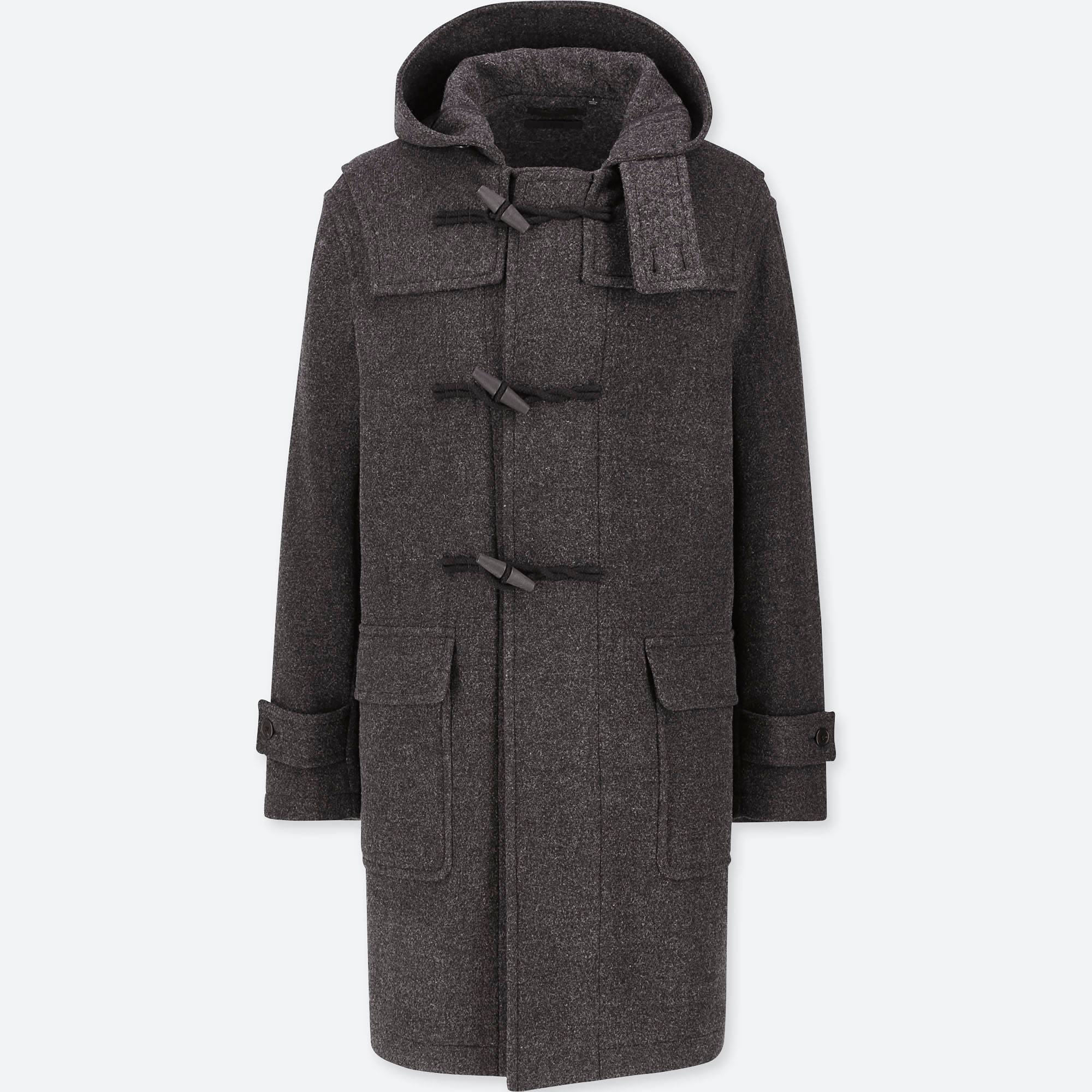 Uniqlo Wool-Blend Duffle Coat