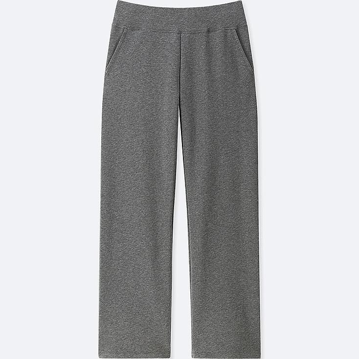 WOMEN ULTRA STRETCH LOUNGE PANTS, DARK GRAY, large