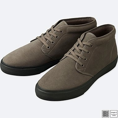 MEN U CHUKKA SNEAKERS, DARK GRAY, medium