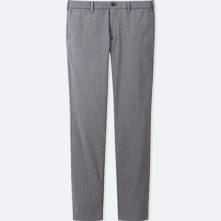 MEN SLIM-FIT CHINO FLAT-FRONT PANTS at UNIQLO in Brooklyn, NY | Tuggl