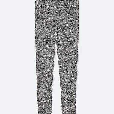 GIRLS DRY LEGGINGS, DARK GRAY, medium