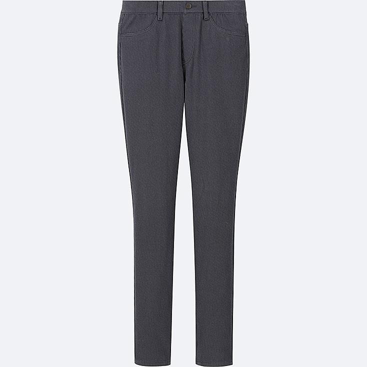 WOMEN PRINTED LEGGINGS PANTS, DARK GRAY, large