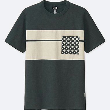 KARAKAMI KARACHO SHORT-SLEEVE GRAPHIC T-SHIRT, DARK GRAY, medium