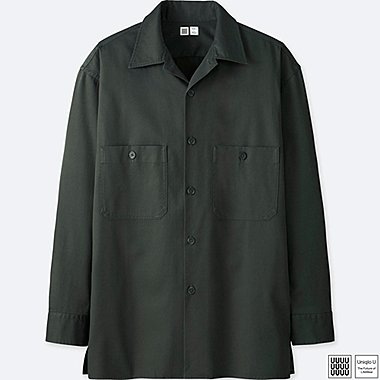 CHEMISE CASUAL COL OUVERT UNIQLO U HOMME