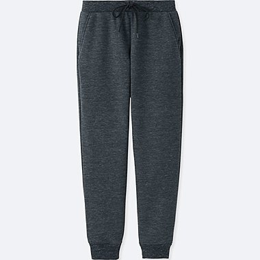WOMEN WINDPROOF FLEECE PANTS, DARK GRAY, medium