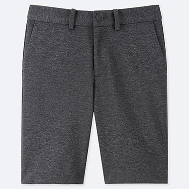 BOYS COMFORT HALF PANTS, DARK GRAY, medium