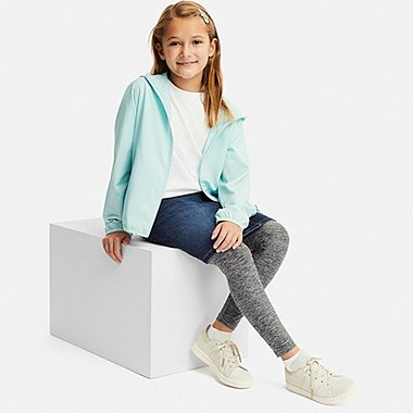 KIDS DRY HEATHER LEGGINGS