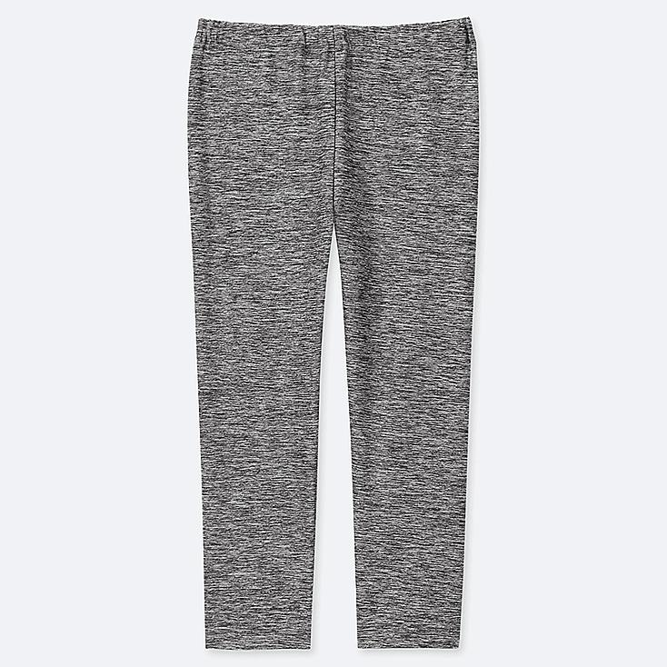 KIDS DRY CROPPED LEGGINGS, DARK GRAY, large
