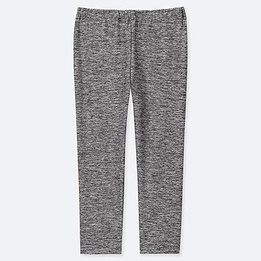 KIDS DRY CROPPED LEGGINGS, DARK GRAY, medium