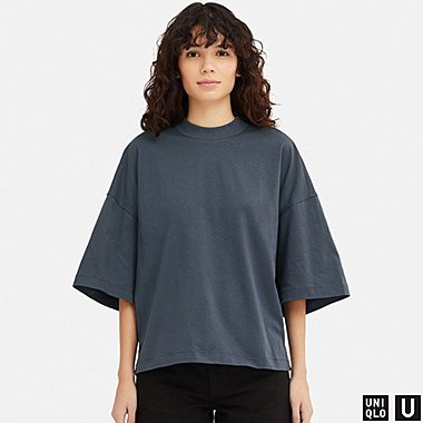 DAMEN UNIQLO U OVERSIZED-T-SHIRT