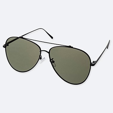 AVIATOR SUNGLASSES, DARK GRAY, medium