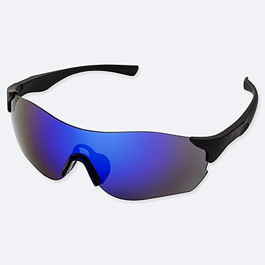 RIMLESS WRAP SPORTS SUNGLASSES