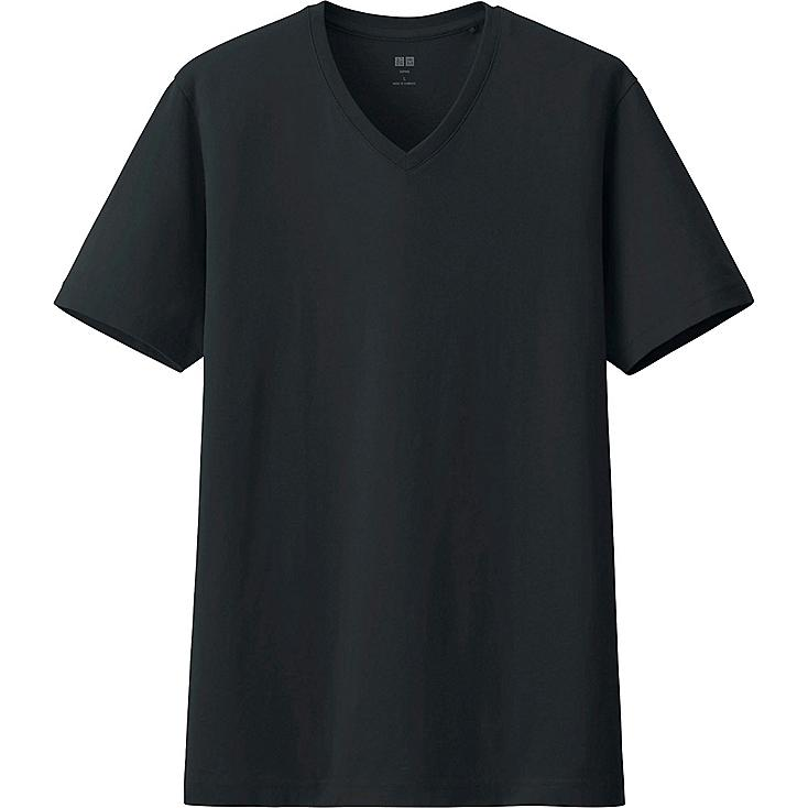 SUPIMA COTTON Tshirt, BLACK, large