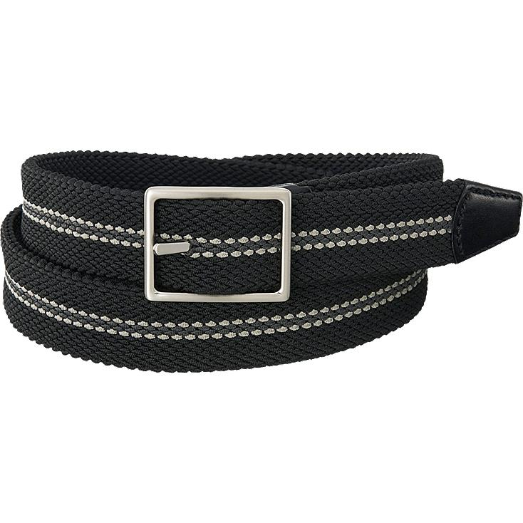 Stretch mesh belt, BLACK, large