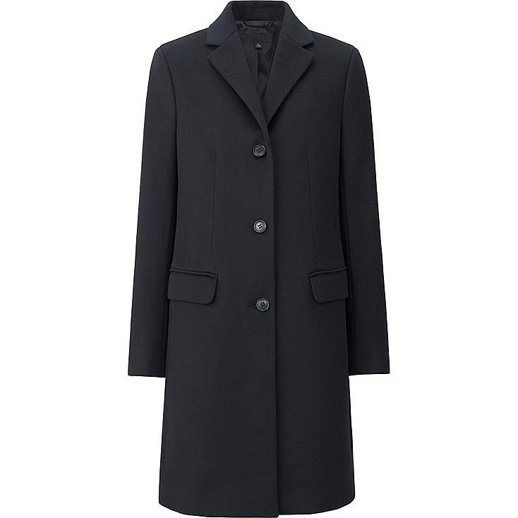 WOMEN Cashmere Blended Chester Coat