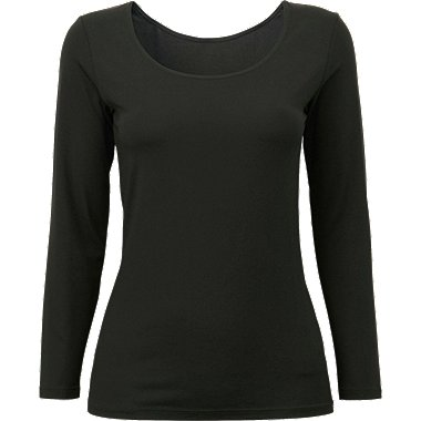 HEATTECH DAMEN T-shirt mit U-Ausschnitt