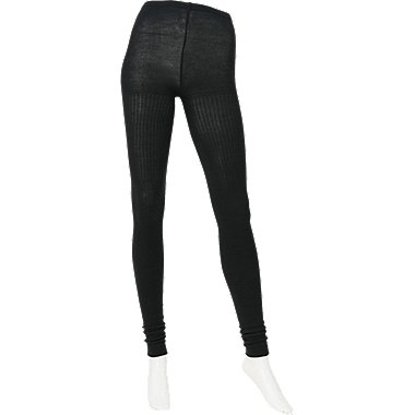 WOMEN HEATTECH Knitted Extra Long Leggings (Rib)