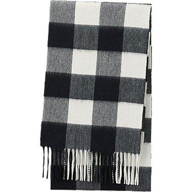 CASHMERE SCARF, BLACK, medium