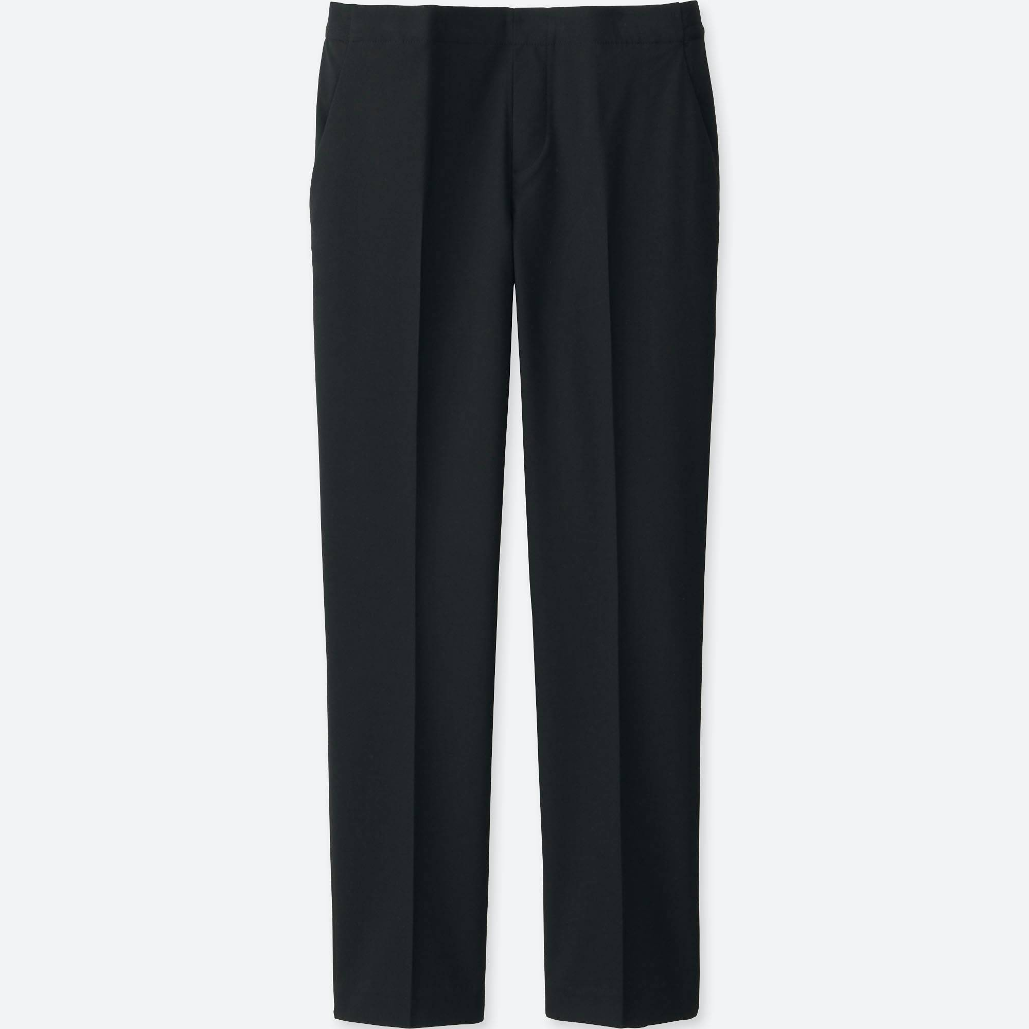 Womens Black Ankle Pants