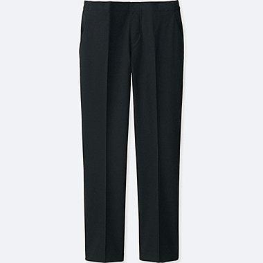 Womens Ankle Length Pants, BLACK, medium