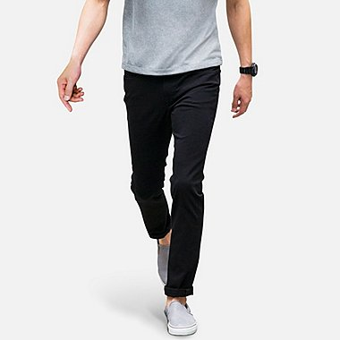 Men SKINNY FIT COLORED Jeans, BLACK, medium