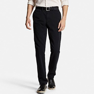 MEN Vintage Regular Fit Chino Flat Front Pants