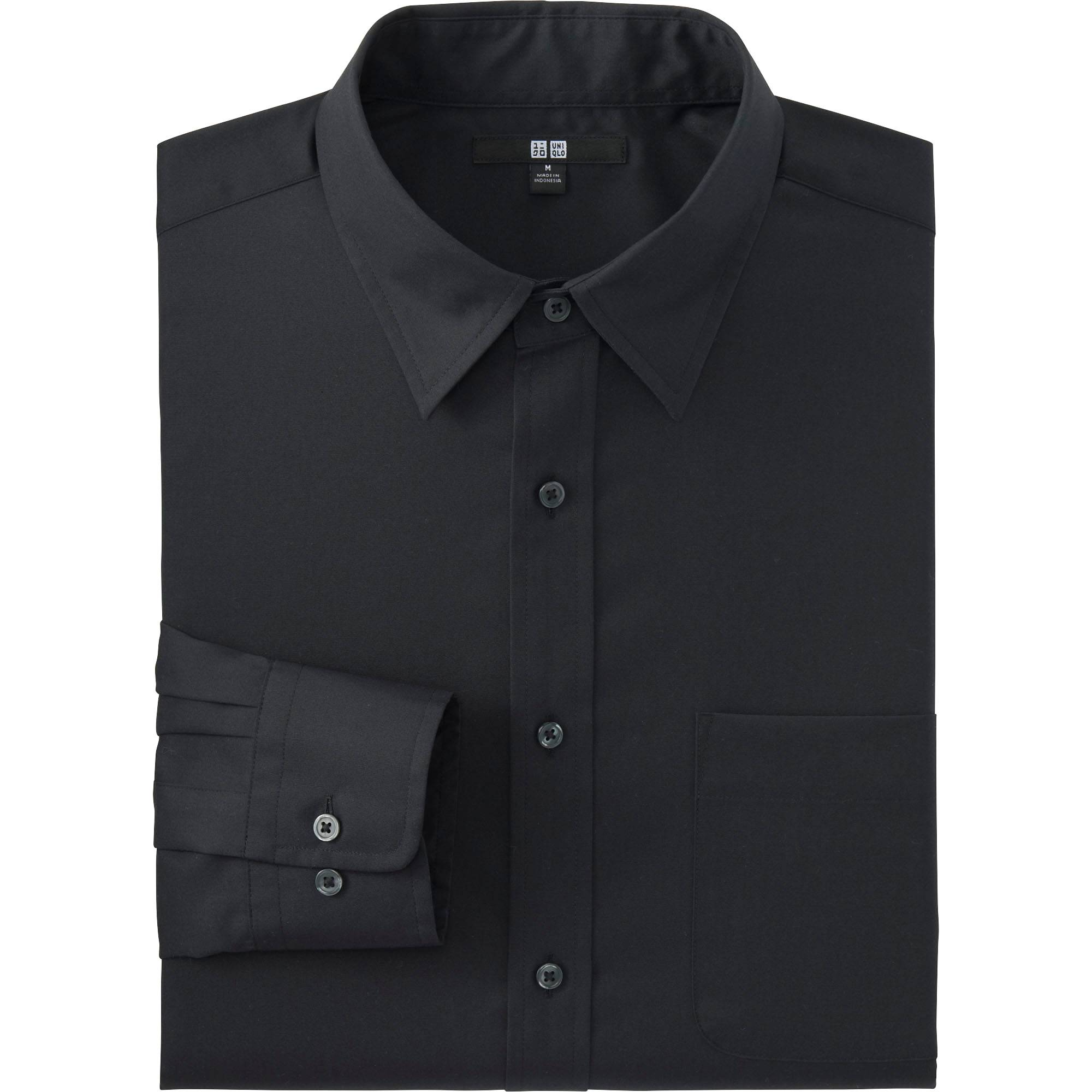 Men Easy Care Broadcloth Dress Shirt | UNIQLO US