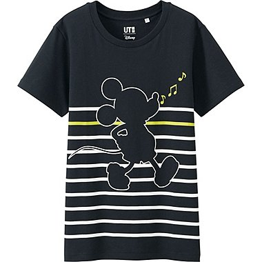 Women Disney Project Graphic T-Shirt, BLACK, medium