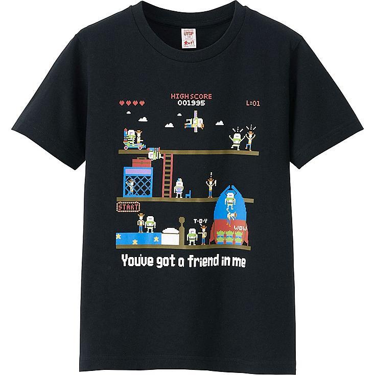 UTGP Pixar Graphic T-Shirt, BLACK, large