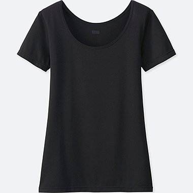 HEATTECH WOMEN Scoop Neck T-Shirts