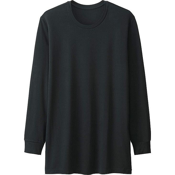 MEN HEATTECH CREWNECK T-SHIRT (LONG SLEEVE) | UNIQLO US
