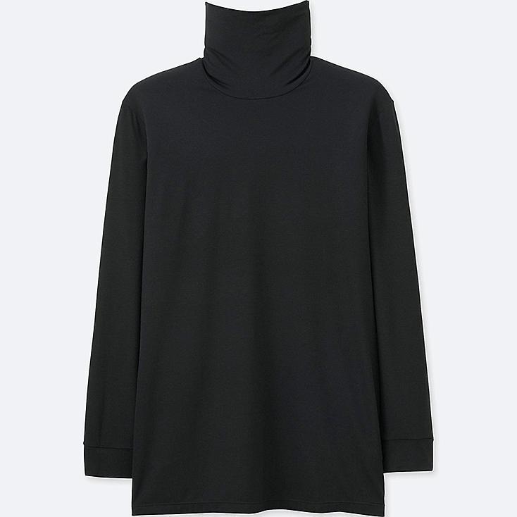 Men heattech turtleneck t long sleeve uniqlo us for Long sleeve black turtleneck shirt