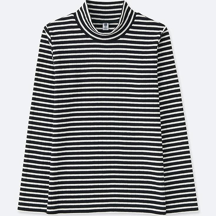 T-Shirt Col Haut Manches Longues FILLE