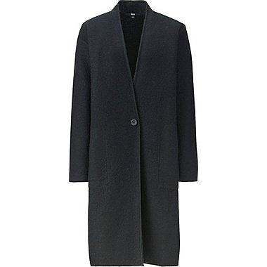 WOMEN Felted Wool Long Coat