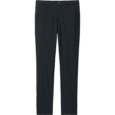 WOMEN BLOCKTECH WARM-LINED SLIM FIT PANTS, BLACK, medium