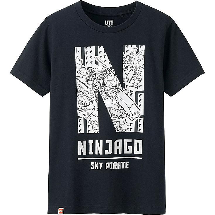 Boys LEGO® Ninjago Graphic Tee, BLACK, large