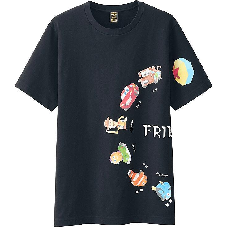Men UTGP Pixar Graphic T-Shirt, BLACK, large