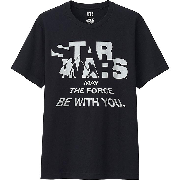 Star Wars Graphic Tee, BLACK, large