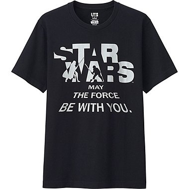 Mens Star Wars Graphic Tee, BLACK, medium