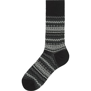HEATTECH HERREN Socken Gemustert