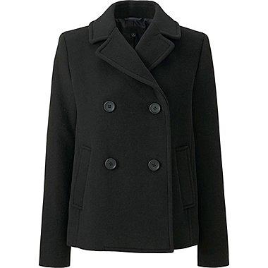 DAMEN Pea Coat aus Wollmix