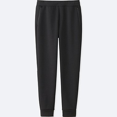 MEN DRY STRETCH SWEAT PANTS, BLACK, medium