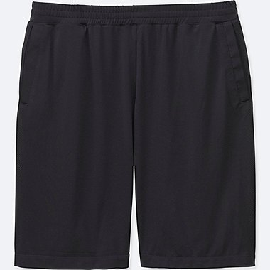 MEN DRY-EX SHORTS, BLACK, medium