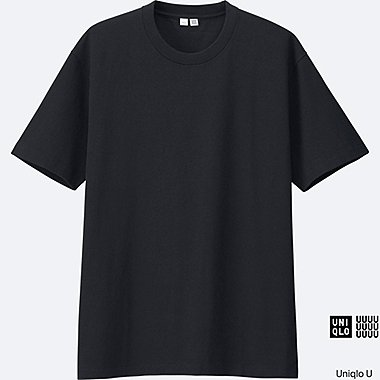 MEN Uniqlo U Short Sleeve Crew Neck T-Shirt